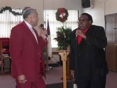 Pastor & Al Singing